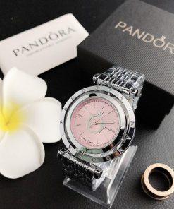 Pandoraes marque de luxe Quartz poignet robe femmes montres Bracelet en argent dames montre en acier inoxydable horloge étanche montre P34